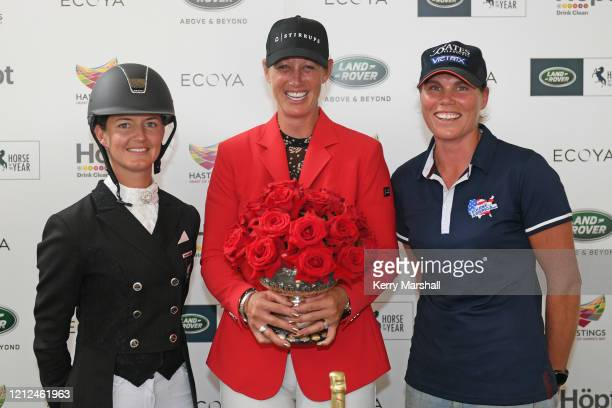 Horse of the year title winners pose for a photo during the 2020 Horse of the Year at Hawke's Bay AP Showgrounds on March 15 2020 in Hastings New...