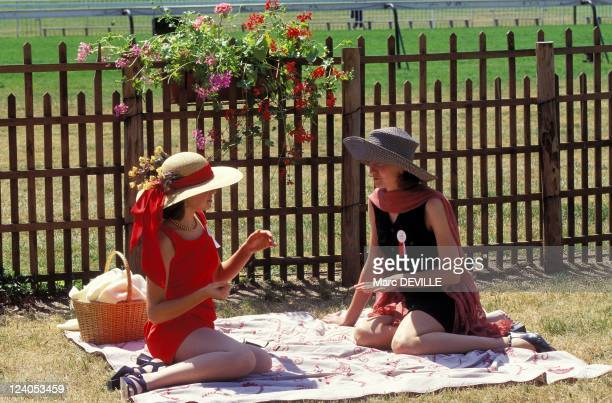 Horse Racing 'Grand prix de Diane' In Chantilly France On June 09 1996