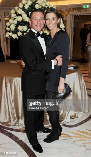 Horse racing jockey Frankie Dettori and wife Catherine Dettori attend the Cartier Racing Awards 2011 at The Dorchester Hotel on November 15 2011 in...
