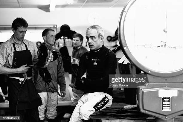Horse racing jockey Ruby Walsh is photographed on February 22 2013 in Esher England