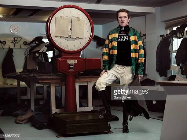 Horse racing jockey Tony McCoy is photographed on February 22 2013 in Esher England