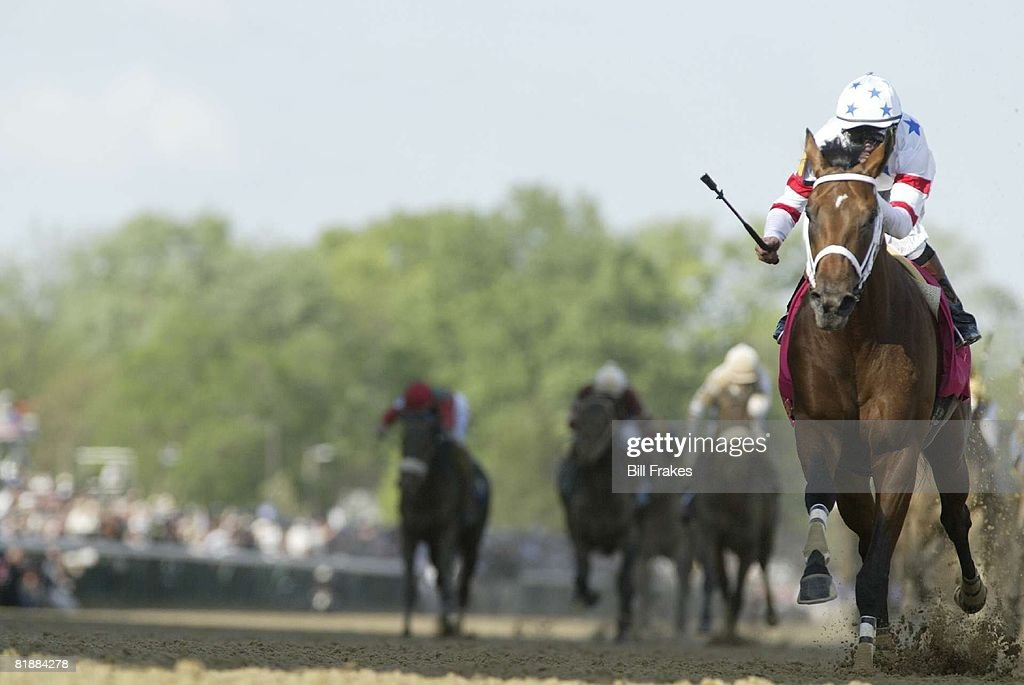 Kentucky Derby, Kent Desormeaux in action aboard Big Brown