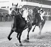 Horse racing seabiscuit in action winning race vs war admiral at picture id81447296?s=170x170