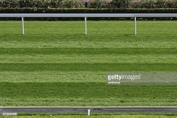 horse racing track - track imprint stock photos and pictures