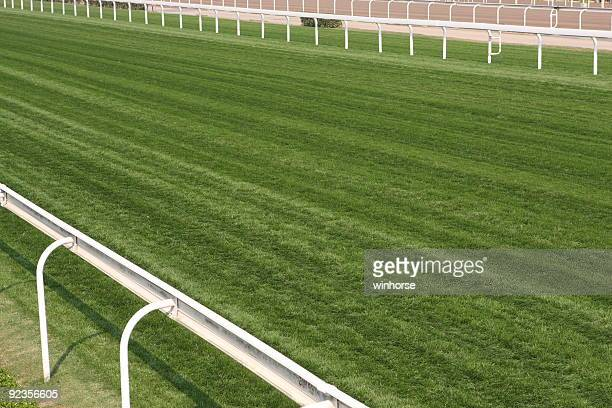 horse racing track - sports track stock pictures, royalty-free photos & images