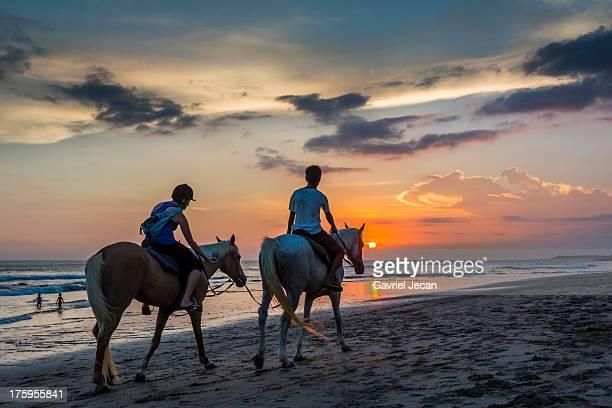 Horse ride in Bali, Indonesia