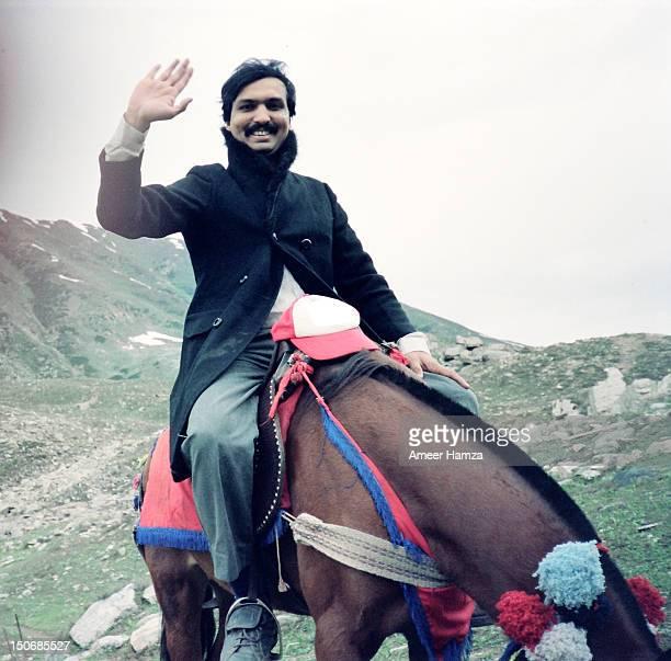 Horse ride to lake Saif-ul-Muluk
