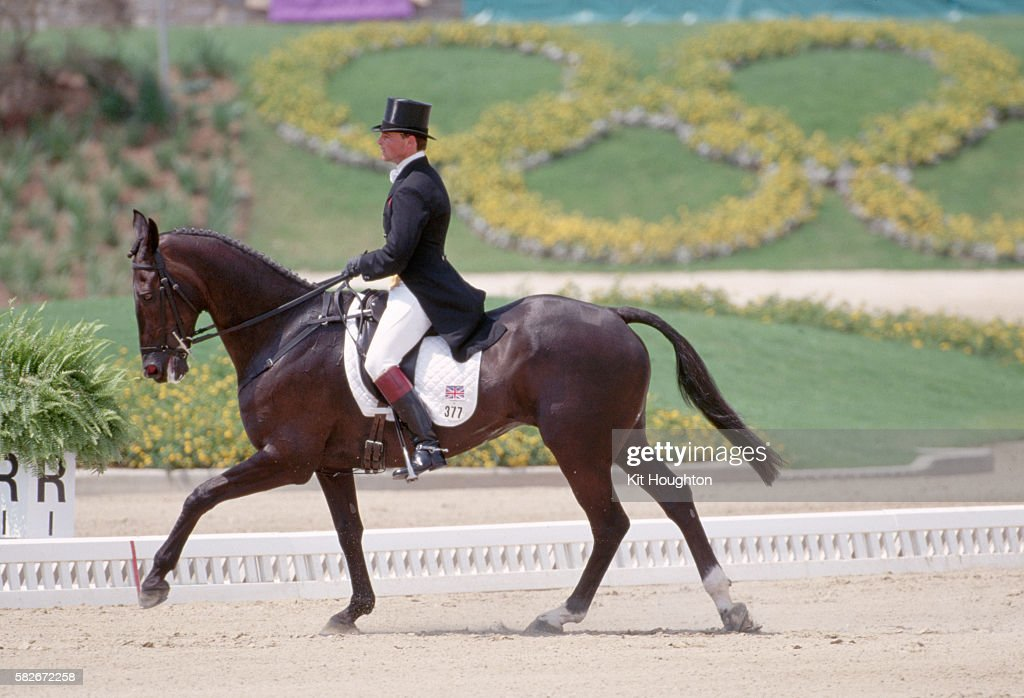Horse Rider Lara Villata : Stock Photo