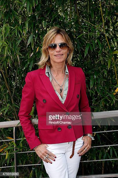 Horse Rider Virginie CouperieEiffel attends the French Tennis Open 2015 at Roland Garros on May 30 2015 in Paris France