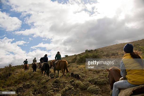 Horse riding excursion in Patagonia, Bariloche, Argentina