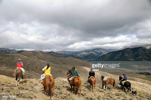 Horse Riding in Bariloche, Patagonia, Argentina