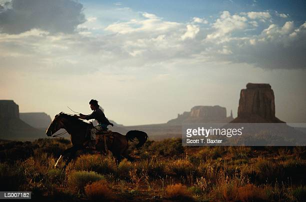 Horse Riding in Canyon