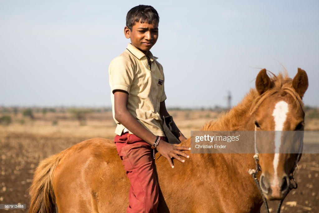 Horse Riding Indian Boy Outside On A Field News Photo Getty Images