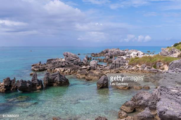 horse shoe bay, bermuda - southampton parish stock photos and pictures
