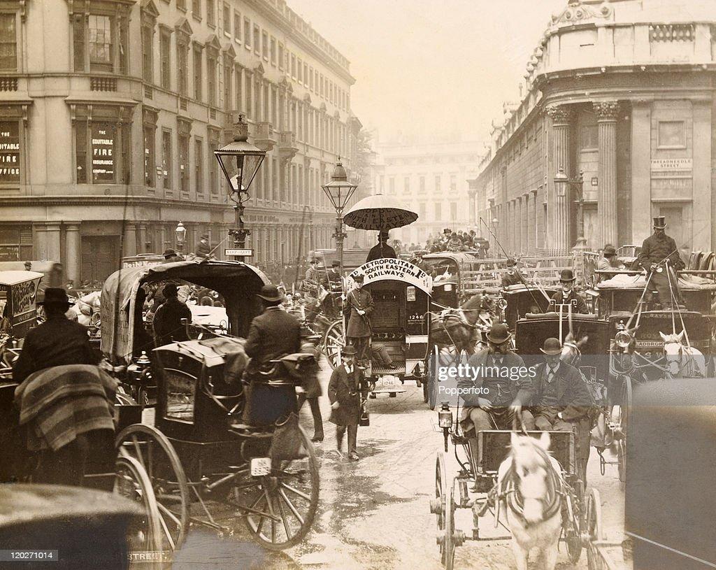 London Traffic Congestion : News Photo