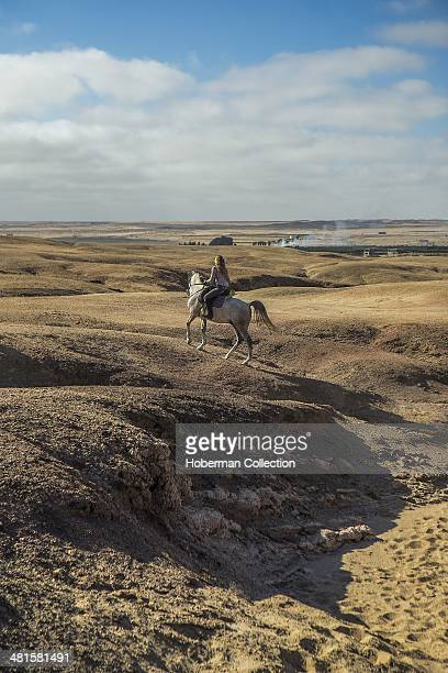 Horse Trails and Riding in Desert at Swakopmund in Namibia