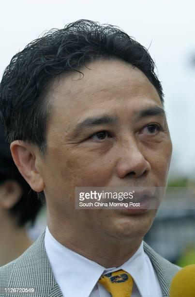 Horse trainer Andy Leung at Sha Tin Racecourse 18 May 2003