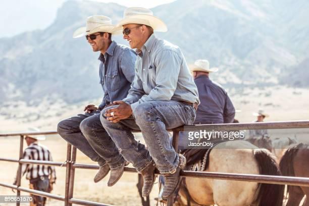 Horseback Riders on Ranch