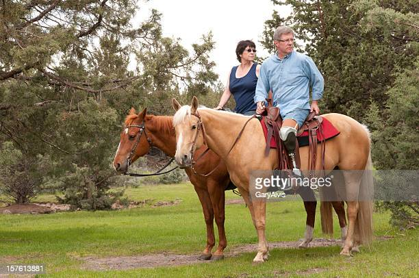 Horseback riders/amputee