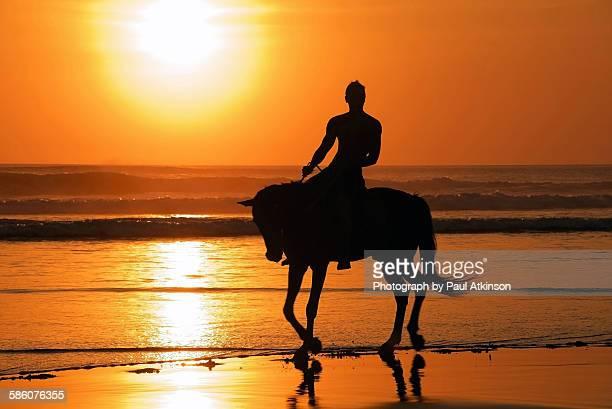 Horseback riding in Bali