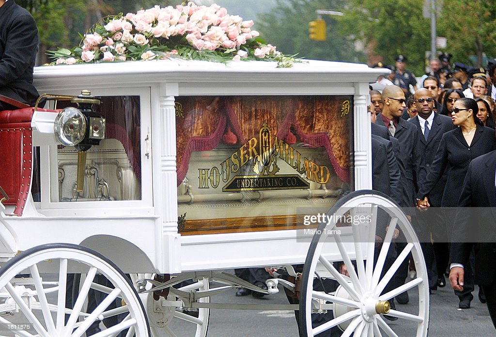 Funeral for Aaliyah in New York City : News Photo