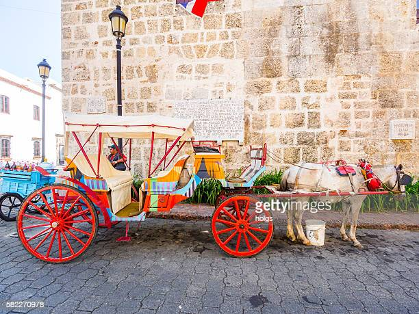Horse-drawn Carriage in Santo Domingo