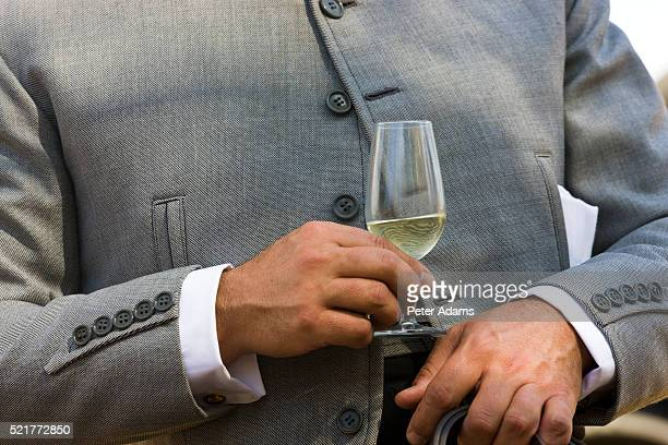 Horseman Drinking Sherry at Jerez Horse Fair