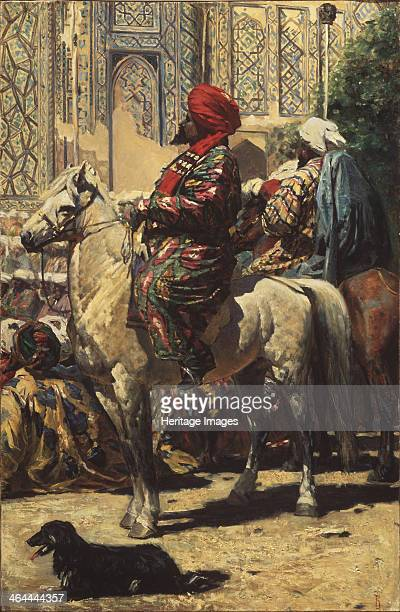 A horseman in Samarkand 1872 Found in the collection of the Regional Art Gallery Taganrog