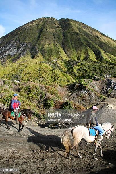 CONTENT] Horsemen inside the mount Bromo volcano east Java Indonesia