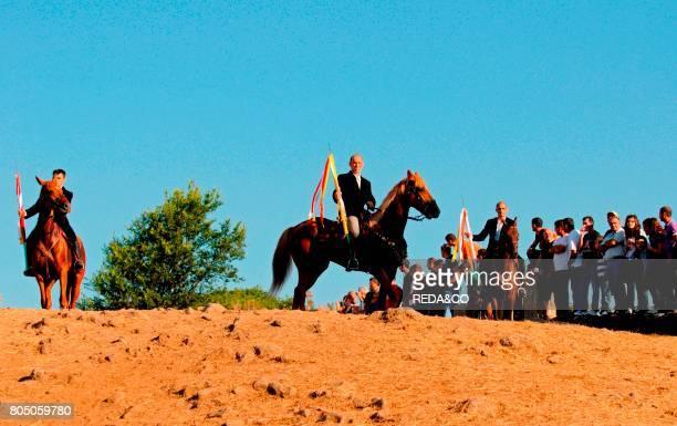 Horsemen of the ArdiaSedilo townSardiniaItaly
