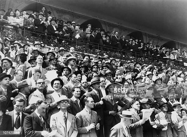 Horseracing Meeting In Auteuil On 1943