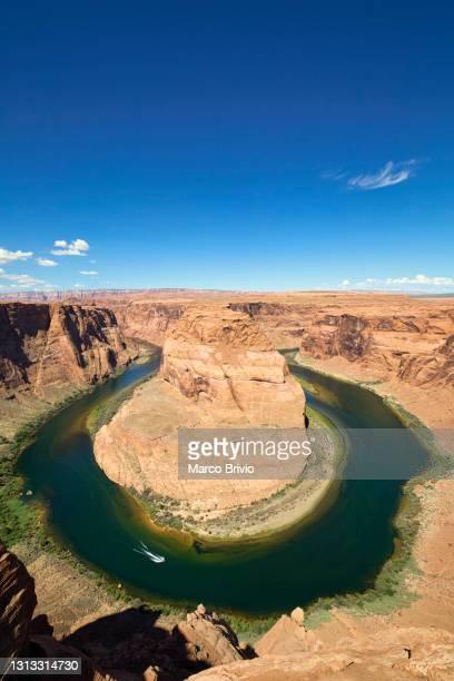 horseshoe bend. arizona - marco brivio stock pictures, royalty-free photos & images