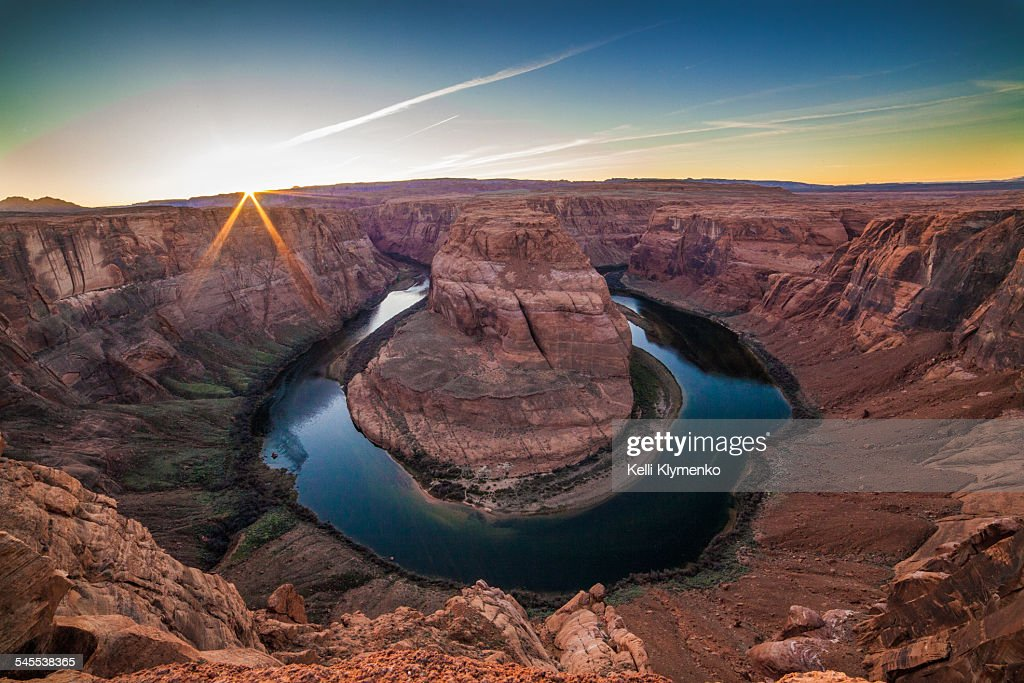 Horseshoe Bend, Arizona : Stock Photo