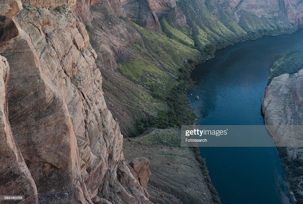 Horseshoe Bend at the Colorado River : Stock Photo