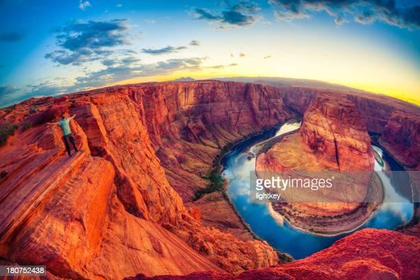 Horseshoe bend, Grand Canyon, États-Unis