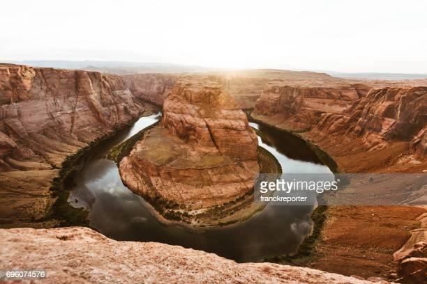 Horseshoe bend paysage