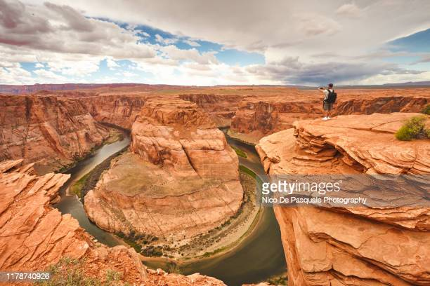horseshoe bend - nico de pasquale photography stock pictures, royalty-free photos & images
