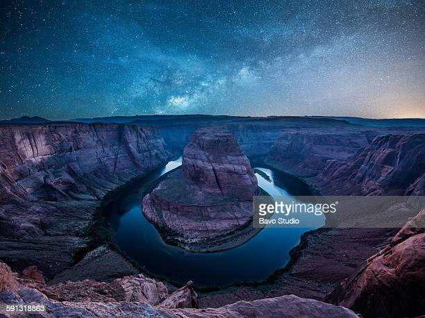 horseshoe bend - category:grand_canyon_national_park stock pictures, royalty-free photos & images