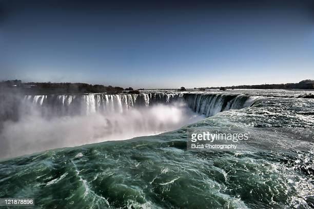 Horseshoe waterfalls at Niagara Falls