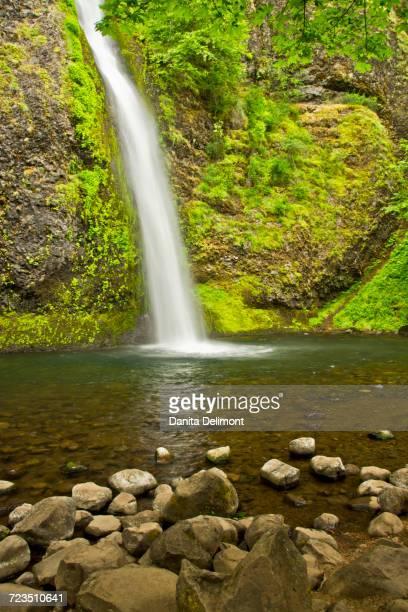 Horsetail Falls, Columbia Gorge, Oregon, USA