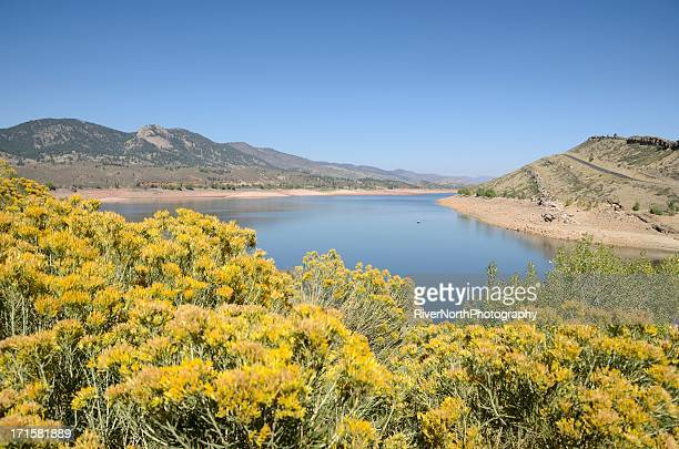 horsetooth reservoir, fort collins - fort collins stock pictures, royalty-free photos & images
