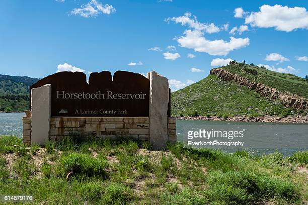 horsetooth reservoir, fort collins - reservoir stock pictures, royalty-free photos & images