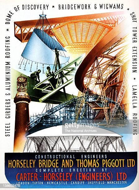 Horsley Bridge Thomas Piggott Engineers in association with the Festival of Britain 1951