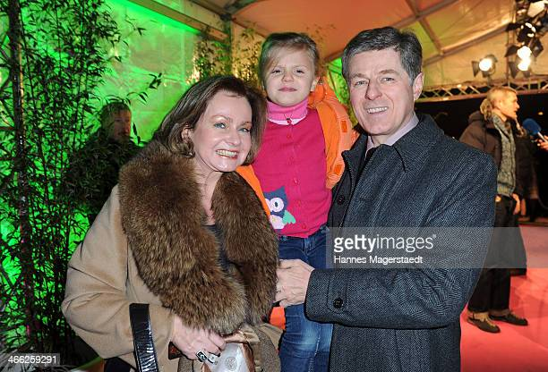 Horst and Eva Kummeth attend 'Cirque Du Soleil' Kooza 2014 Munich Premiere at Theresienwiese on January 31, 2014 in Munich, Germany.