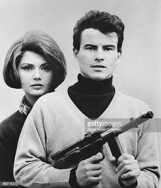 Horst Buchholz and Sylva Koscina in the film of Antonio IsasiIsasmendi Estambul 65 France Italy Spain 1965