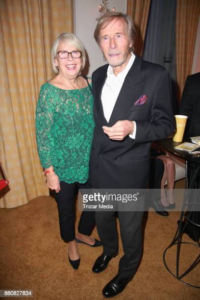 Horst Janson and his wife Hella Janson attend the Movie Meets Media event 2017 at Hotel Atlantic Kempinski on November 27 2017 in Hamburg Germany