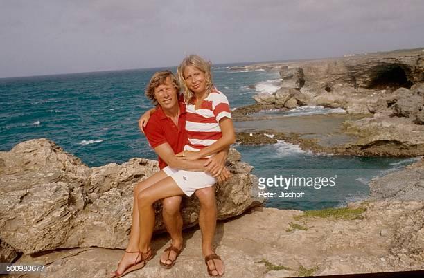 Horst Janson Ehefrau Hella Barbados Karibik Urlaub Flitterwochen Hochzeitsreise Meer Ehemann Schauspieler Journalistin Promi JB/JB Sc