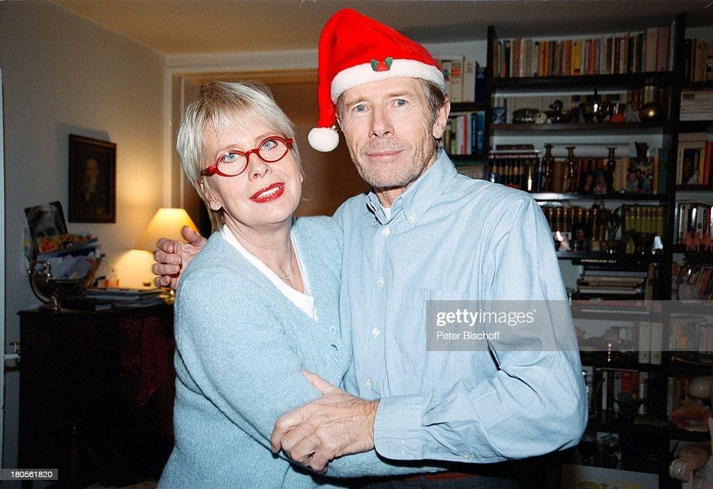 Horst Janson, Ehefrau Hella, Homestory, Wohnzimmer,;Grünwald bei ...