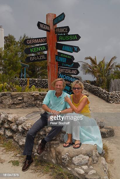 Horst Janson Ehefrau Hella InselAusflug North Point Insel Barbados Karibik Wegweiser Urlaub Schauspieler