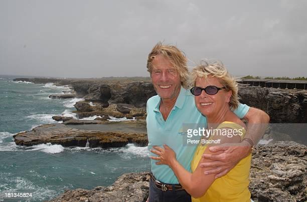 Horst Janson Ehefrau Hella North Point nördlichster Punkt der Insel Animal Flower Cave InselAusflug Insel Barbados Karibik Urlaub Schauspieler